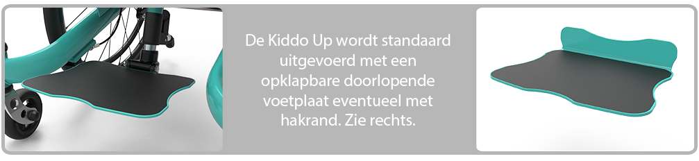 Kiddo Up voetplaat