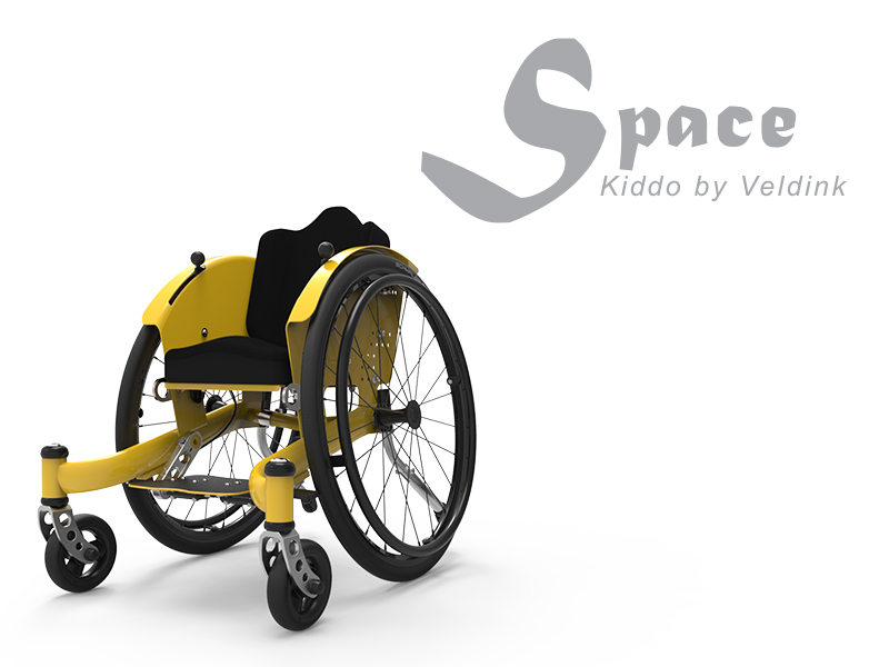 Kiddo Space  'an active lightweight wheelchair especially for the smallest users.