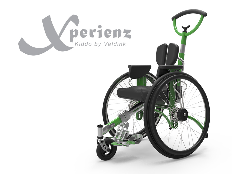 Kiddo Xperienz 'Our 3-wheel model, very easy and light to manouvre.'