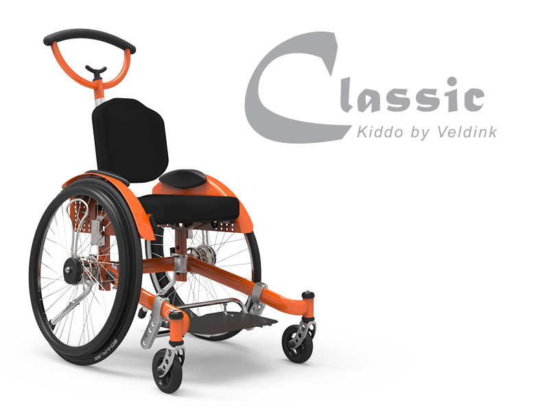 Kiddo Classic  'The all-rounder of the Veldink4kids wheelchair family! A reliable