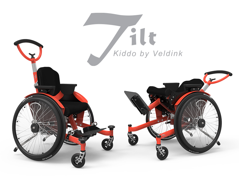 Kiddo Tilt  'The Tilt is ideal for children who want to drive themselves. One of the few available tilting wheelchairs suitable for self-drive'